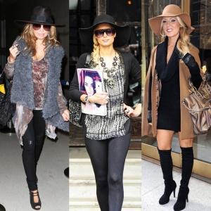 Шляпы в женских образах