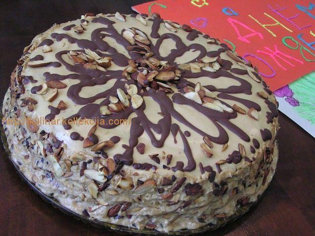 Шоколадный торт с коржами рецепт