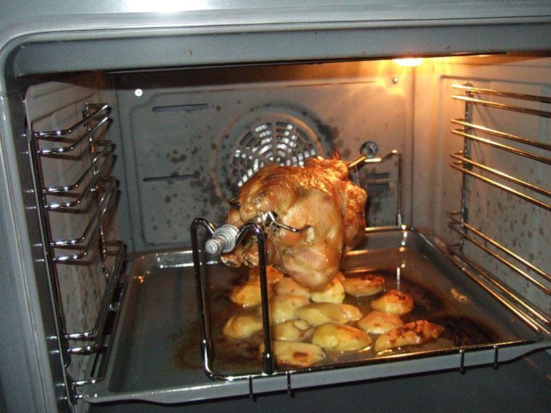 Как сделать курицу гриль в микроволновке с грилем
