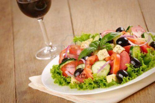 салаты к вину рецепты с фото