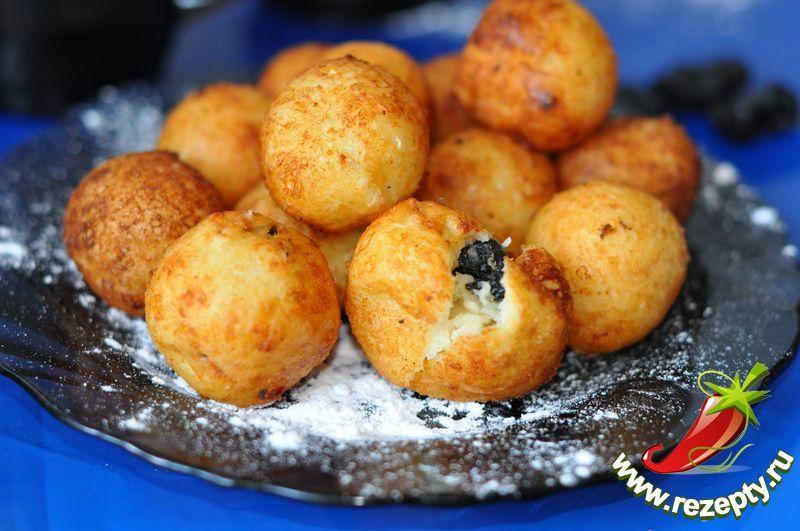 Пончики творожные во фритюре рецепт