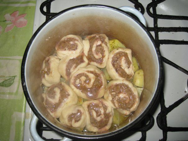 Мясной штрудель рецепт пошагово