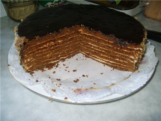 торт с готовыми коржами рецепт в домашних условиях