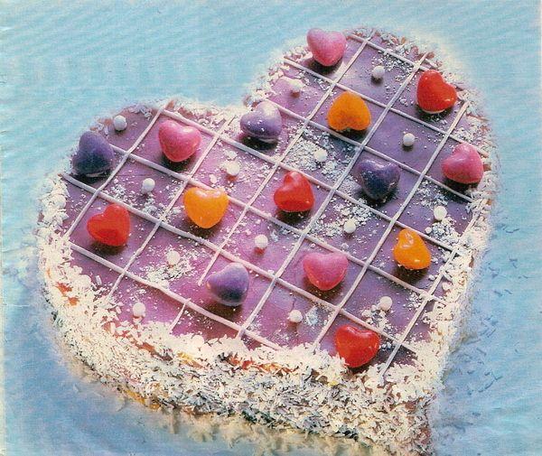 Пирог Фиалковое сердце
